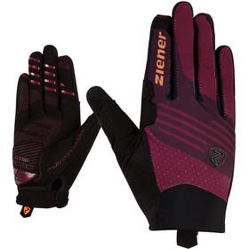 Ziener Cäthe Touch Long Gloves Women cassis